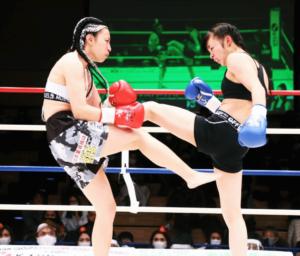 NOZOMI選手vs森川選手