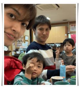 石川ゆりファミリー画像